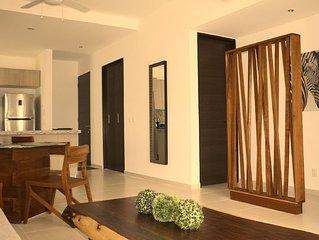 Riviera TAO luxury condo suite -2 bed, 2 bath in Bahia Principe near Sian Kaan