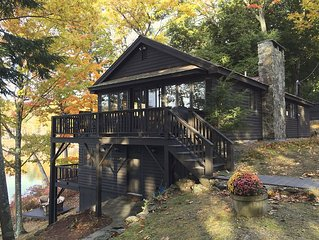 Waterfront 4-Season Cabin On Lake Horace