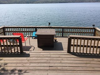 Northern Lake George Rental -- 140 Ft Of Lake Front With Dock For Boat