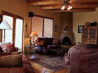Monte De Canoncito - A Beautiful Mountain Top Home, 10 Miles From Santa Fe, NM