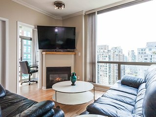 Best Location In The Heart Of Yaletown  2bed-2bad Parking