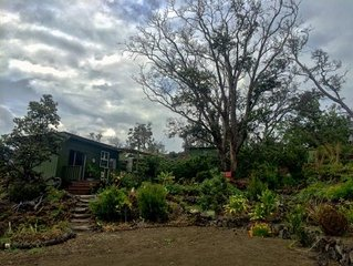 Traditional Hawaiian Cabin with modern amenities and amazing views