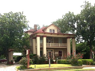 Luxury Lodging, Antiques, Christmas & Gifts where Texas history started