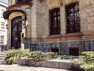 Villa Napoleon, A Heritage House On Montreal's Plateau, Perfect For Groups!