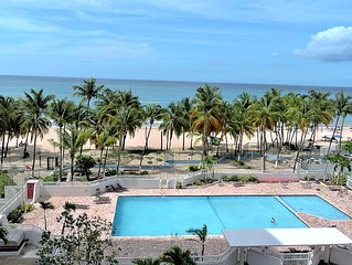 Your New Oceanfront Dream Apartment At Isla Verde Beach!