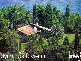 Beach Villa next to Platamon Castle, Olympus Riviera.