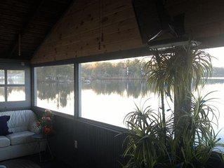 3 Bedroom Boathouse On Paugus Bay Lake Winnipesau