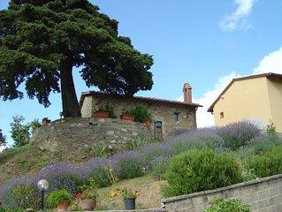 Gite près de Florence en Mugello, vue sur le lac de Bilancino pour 2 personnes