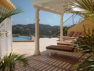 South Sea House Luxurious Apt No 3 In Cap Estate Private Plunge Pool & Sea View