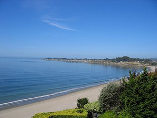 Panoramic Views from Monterey to Capitola, Beach Studio's Overlooking 100' Cliff