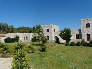 Ktima Petalea: Vacation Cottages Situated On Lush 200+ Acre Beachfront Property