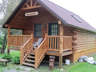 Water front private island 275 feet, Quaint and Cozy Cabin on the Water 1507
