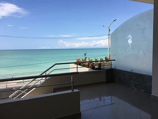 New Oceanfront Condo With 180 Degree Unobstructed View