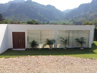 CASA SOLEIL LUNA - Wonderful House in the middle of the Tepozteco Mountain