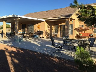 ADA, PET FRIENDLY, CENTRALLY LOCATED HOUSE IN PAHRUMP