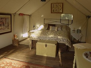 Glamping Tent II, Located On 80 Acre Ranch , Helena Mt