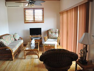Las Palmas Beachfront  Palms Villa, Roatan Bay Islands, Honduras -