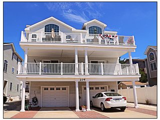 Beautiful Home - Bay Block - Family Neighborhood In Townsend's Inlet