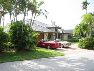 Architectural Gem!  Magical home with Jacuzzi- Walk to Deerfield Beach