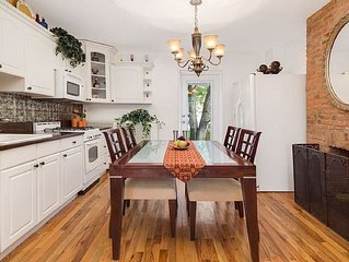 Beautiful 2Bedroom/2Bath Duplex Just Minutes Away From NYC