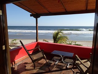 Spectacular Ocean Front Beach House In Playa Guasacate