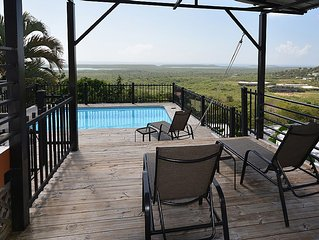 Relaxing 3 Br Home-panoramic Caribbean View Overlooking Vieques Wildlife Reserve