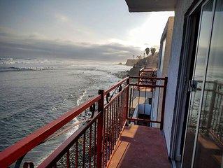 K38 Oceanfront DRAGON CASTLE- Penthouse + Hot Tub
