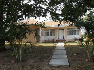 Beautiful House Rental In Trujillo Honduras, Walking Distance To Sandy Beach.