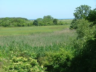 Fabulous views of Quivett Creek Marsh , Secluded Beach via Crowes Pasture