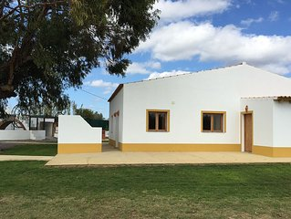 House located near Fuseta, in the heart of Ria Formosa.