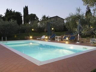 Apart in CHIANTI near Greve & San Casciano,PRIVATE POOL ONLY FOR YOU!