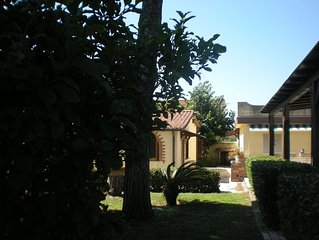 BEAUTIFUL VILLA ON THE BEACH- ROME- 30 MIN FROM THE CENTER