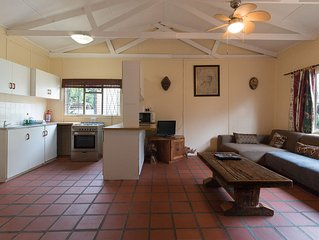 Centrally Located Fully Contained Comfortable Two Bedroom Chalet