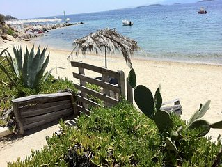 Beachfront family house
