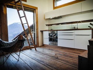 Unique Bijou With Breathtaking View Of The Swiss Alps