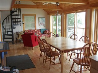 Private Lakefront w/Spectacular Views on 520 acre Franklin Pierce Lake