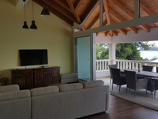 Beautiful Attic Apartment With A Stunning Sea View 4+1