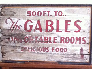 The Gables Tea House Historic Getaway