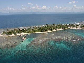Beautiful Cayos Cochinos Honduras Island Home
