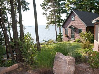 Unique Lakefront Cottage for 2 -  Overlooking beautiful Lake Champlain.