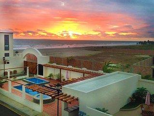 Pacific Beachside Luxury Villa #2, Puerto Cayo, Ecuador, near Manta