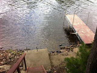 Hudson River Dream cottage  250 ft Waterfront Property
