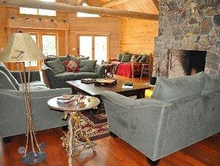 LUXURY Log Home - WOODSTOCK, NY!