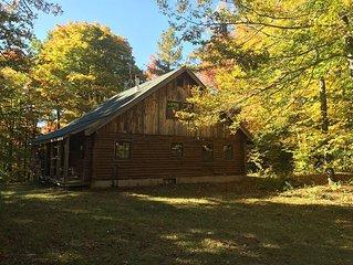 Quaint 4 Season Log Cabin