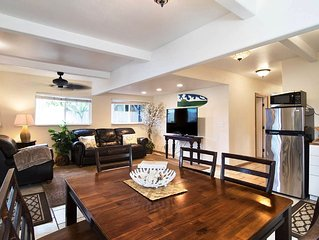 2 Bed Apt By North Shore Beaches (Ground Floor) w/AC