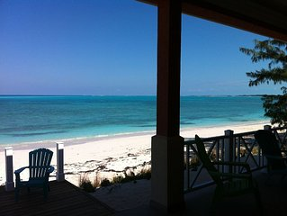 Beach Villa - Luxury in Friendly Exuma - Beachfront - Convenient location