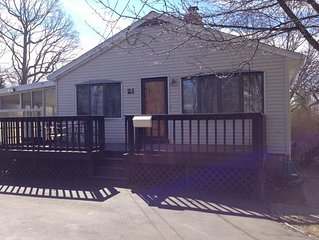 Cute house with a great fenced in yard in a quiet neighborhood!