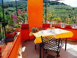 La Terrazza, Private Terrace On The Hills Of Calci