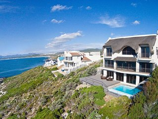 Whale Huys: Direct ocean-front villa, 4br/ba, Wifi, Infinity Pool