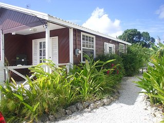Beautiful Cottage Close To Caribbean Dream Beach In Authentic Village